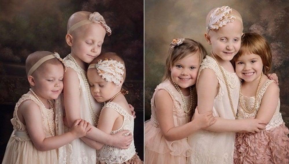 Tres niñas enfermas de cáncer se vuelven a reunir tras vencer a la enfermedad