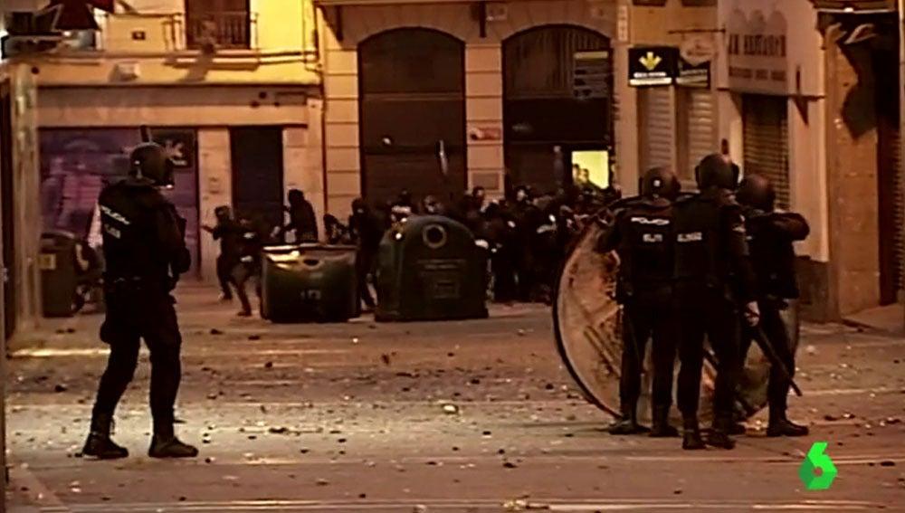 Altercados en Pamplona