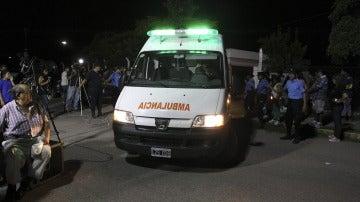 Una ambulancia en Argentina en una imagen de archivo