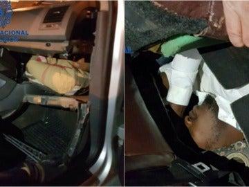 La Policía localiza a dos migrantes con síntomas de asfixia en Ceuta
