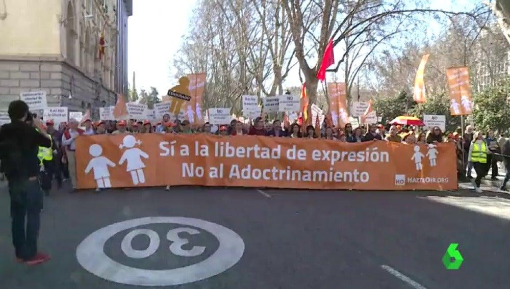 Marcha de Hazte Oír
