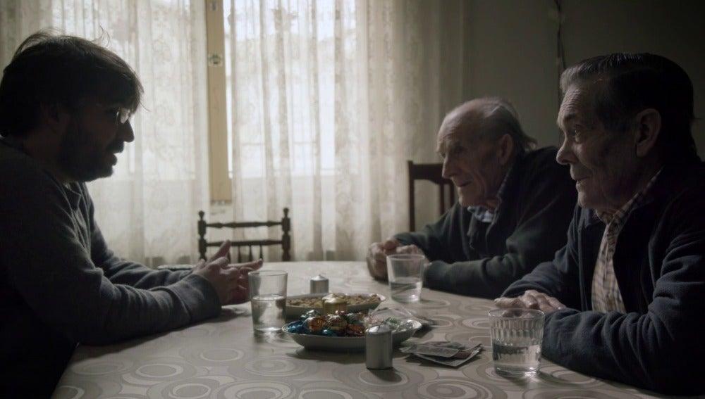 Eusebio y Pedro en Salvados con Jordi Évole