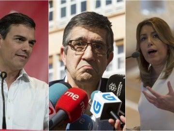 Tres candidatos y dos modelos cuestionados: la financiación de las primarias divide al partido socialista