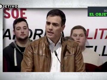Frame 11.064331 de: Los aspirantes a la secretaría general del PSOE pasan por la maldita hemeroteca