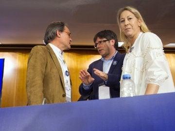 Mas y Puigdemont Aseguran que ninguna inhabilitación va a detener el referéndum