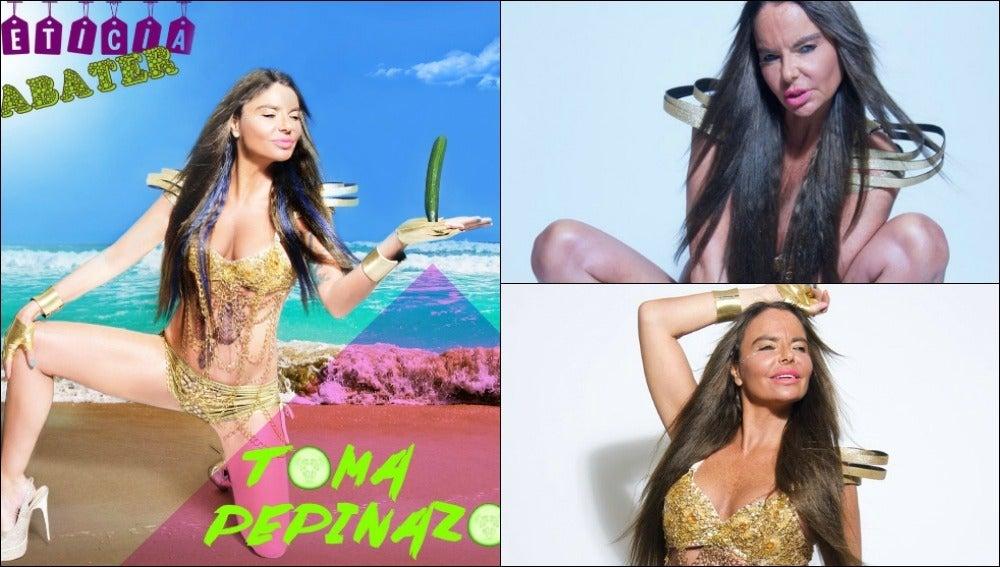 Imágenes promocionales de Leticia Sabater