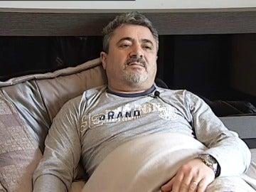 Darío Cordo, paciente gallego