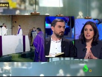 Irene Montero e Ignacio Escolar