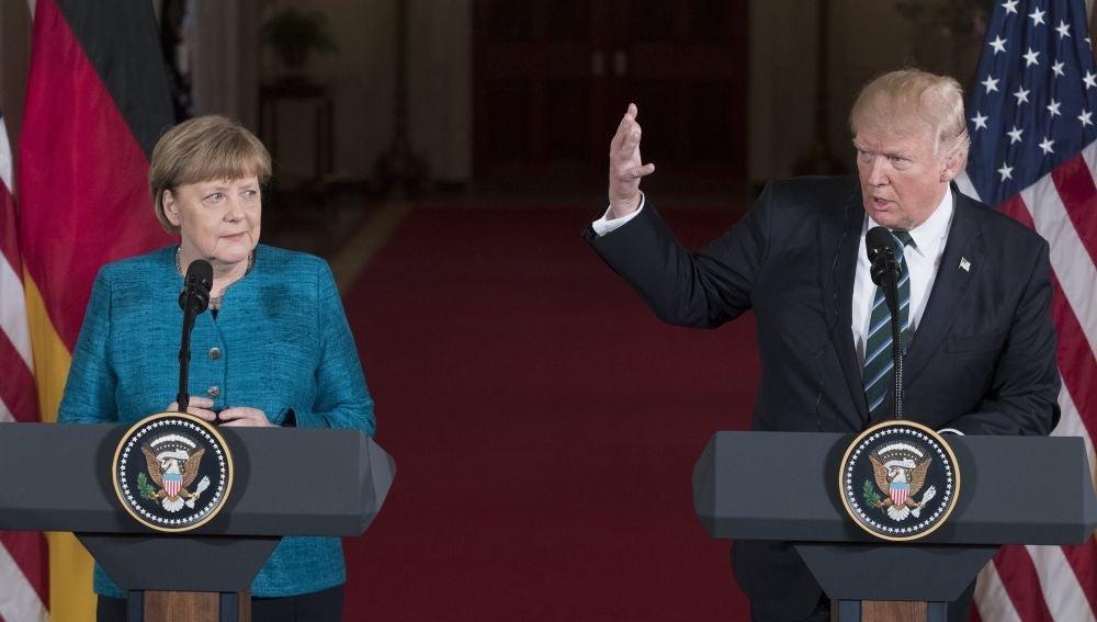 Trump acusa a Alemania de deber dinero a la OTAN