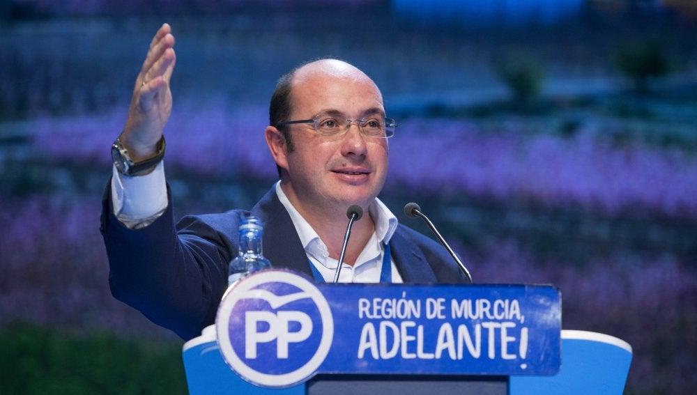 El presidente del PP murciano, Pedro Antonio Sánchez