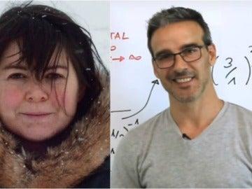 Los profesores Maggie MacDonnell y David Calle