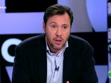 """Frame 7.779197 de: Óscar Puente: """"No han permitido a los militantes que opinen sobre la abstención del PSOE"""""""