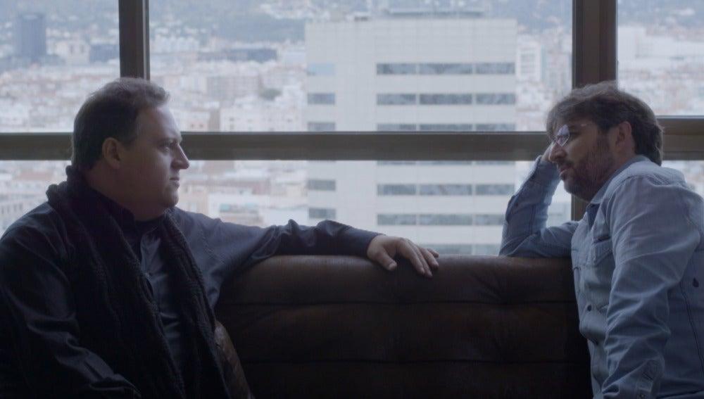 Sebastián Marroquín y Jordi Évole