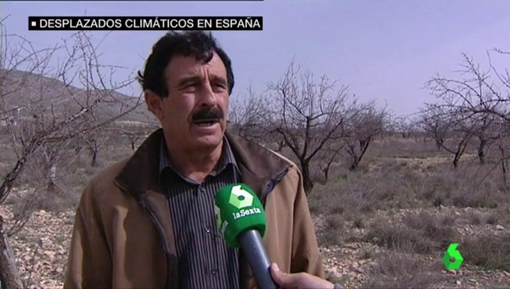 Pedro Rueda, tesorero de la Comunidad de Regantes La Paca
