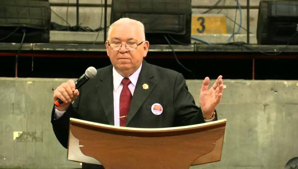 El pastor peruano Rodolfo González