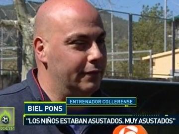 Biel Pons, técnico del Collerense