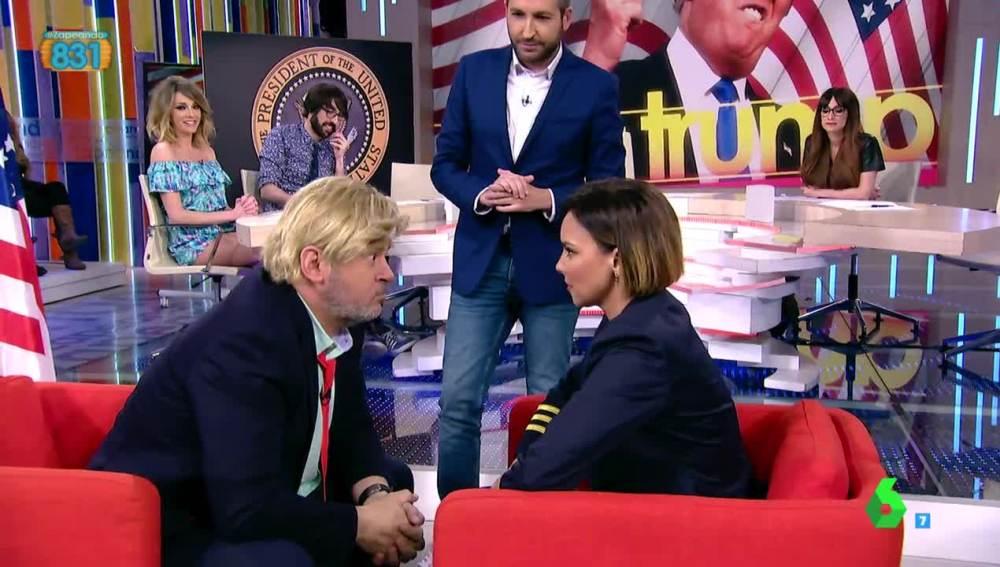 Paco Trump y Chenoa