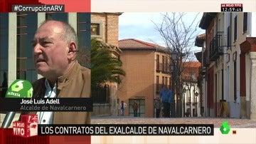 José Luis Adell, alcalde de Navalcarnero