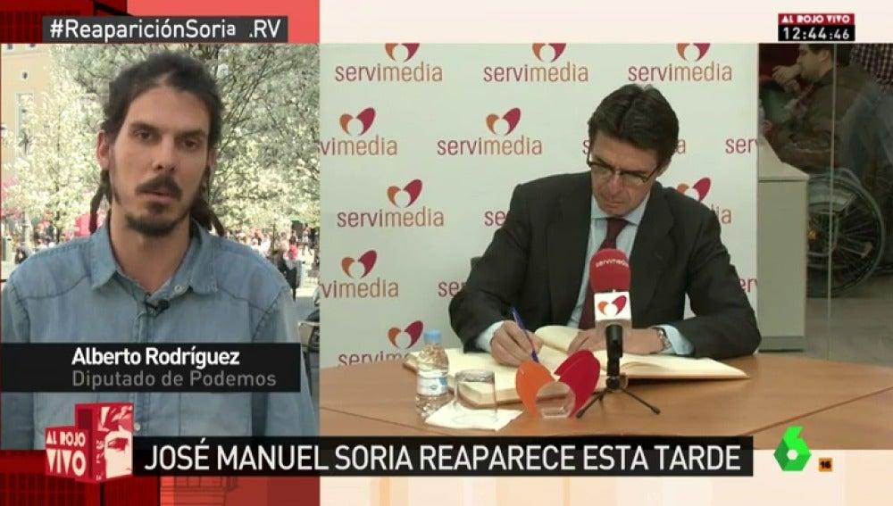 Alberto Rodríguez, diputado de Podemos