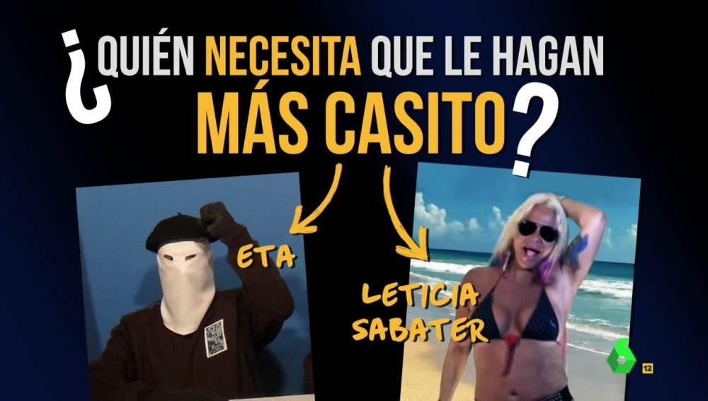 ETA y Leticia Sabater