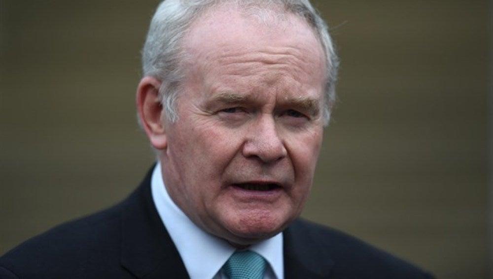Martin McGuinness, exviceministro principal de Irlanda del Norte y antiguo comandante del IRA