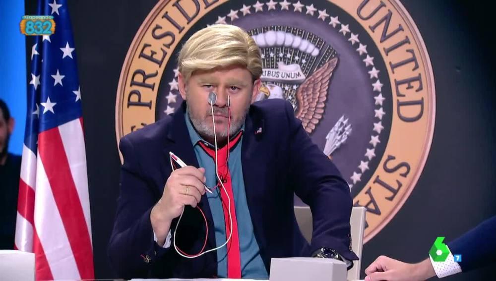 Paco Trump se somete a la prueba del 'polígrafo'
