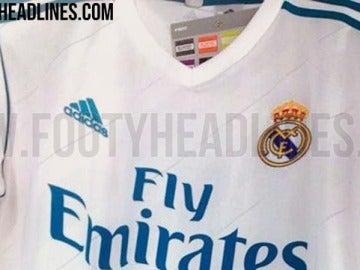 ¿La nueva camiseta del Real Madrid para la próxima temporada?