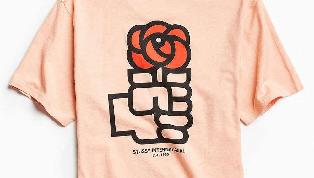Camiseta con el logo del PSOE