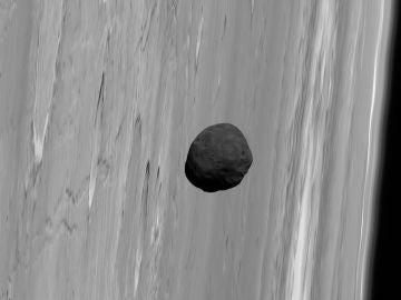 El satélite Phobos captado por la sonda europea Mars Express