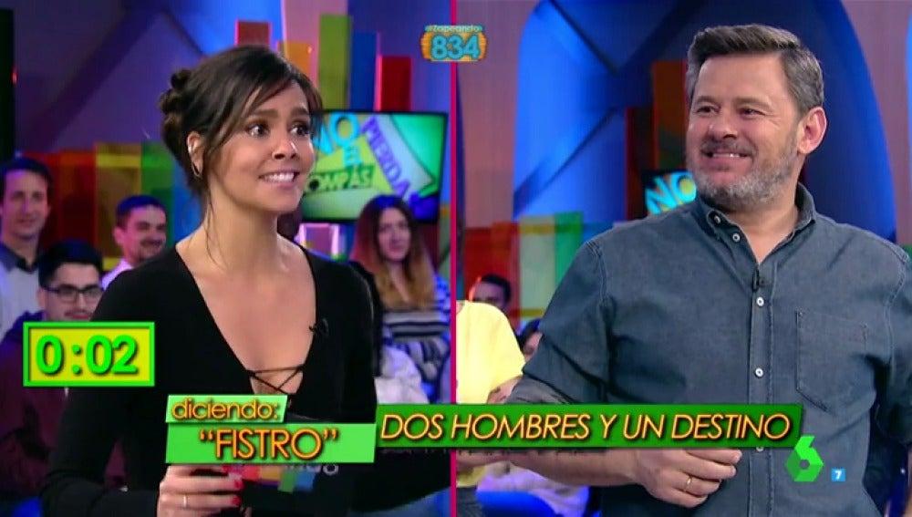 Cristina Pedroche y Miki Nadal, en un juego musical