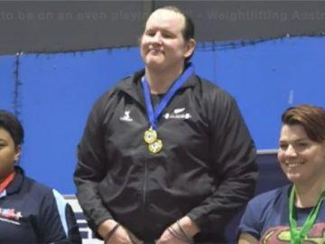 Laurel Hubbard, en lo más alto del podio