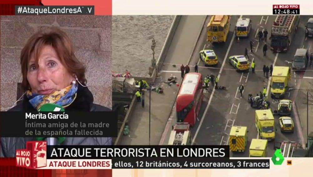 """Habla una amiga de la familia de la española víctima del ataque de Londres: """"Estamos deshechos, no nos lo creemos"""""""
