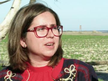 La alcaldesa de Palomares, María Isabel Alarcón