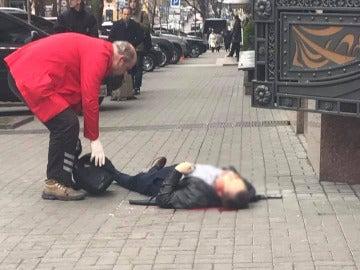 Matan a tiros a exdiputado ruso en el centro de Kiev