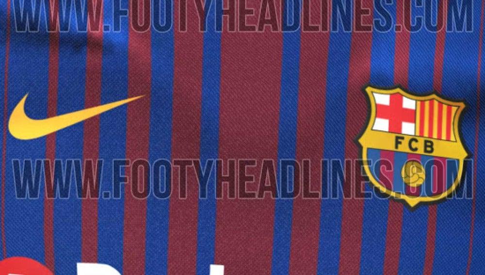 La nueva camiseta del Barcelona para la temporada 2017/2018