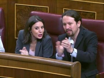 Partido Popular y Podemos se acusan de no respetar el Congreso