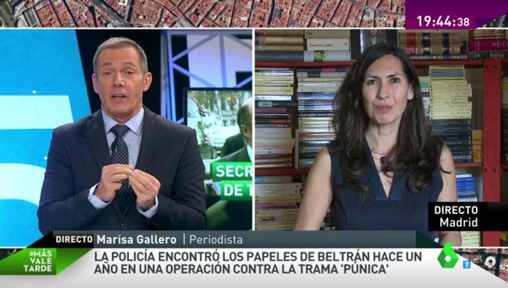 """Frame 2.798186 de: Marisa Gallero: """"El elevadísimo nivel de vida de los Bárcenas ya se sabía, ganaba 21.000 euros al mes"""""""