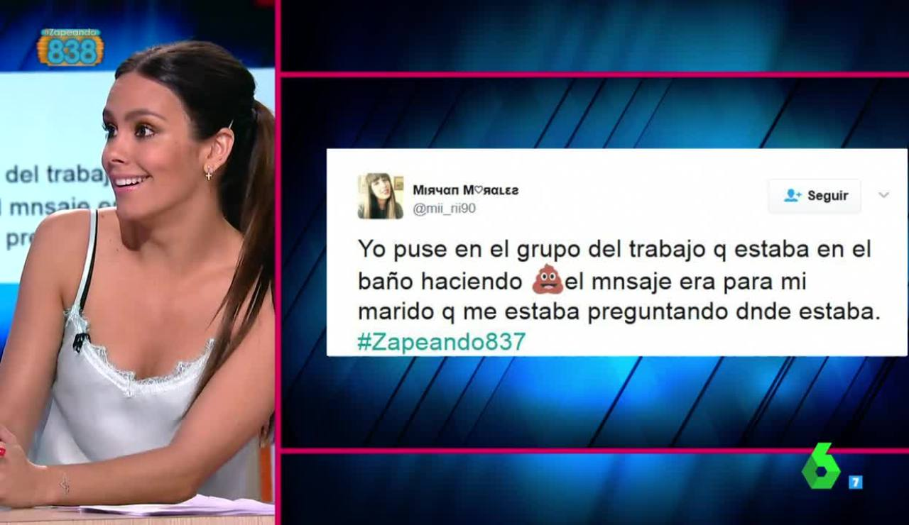 Cristina Pedroche habla de la 'caca' en Zapeando
