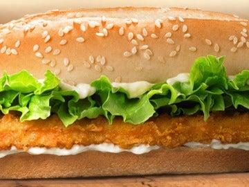 Haburguesa de Burger King