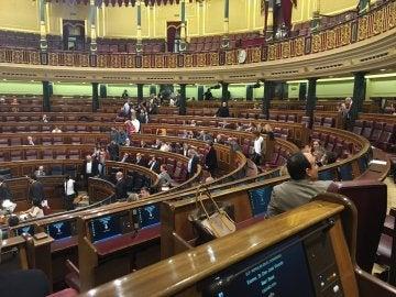 Los partidos nacionalistas y Podemos se plantan y abandonan el pleno del Congreso