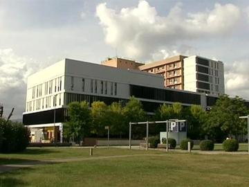 Vista del Hospital Parc Taulí, de Sabadell