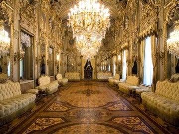 Salón de baile del palacio de Fernán Núñez