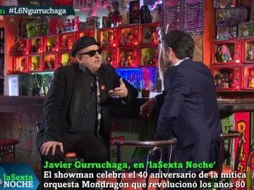 Javier Gurruchaga, en laSexta Noche