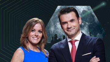 Andrea Ropero e Iñaki López, presentadores de laSexta Noche
