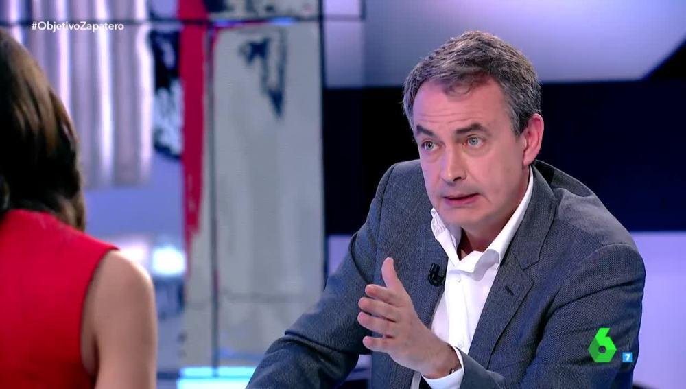 José Luis Rodríguez Zapatero, en El Objetivo
