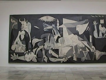El Guernica en el museo Reina Sofía