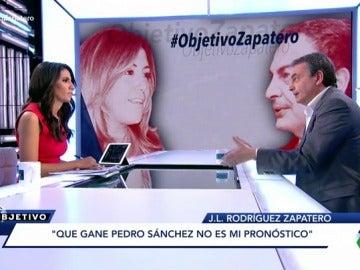 José Luis Rodríguez Zapatero en El Objetivo