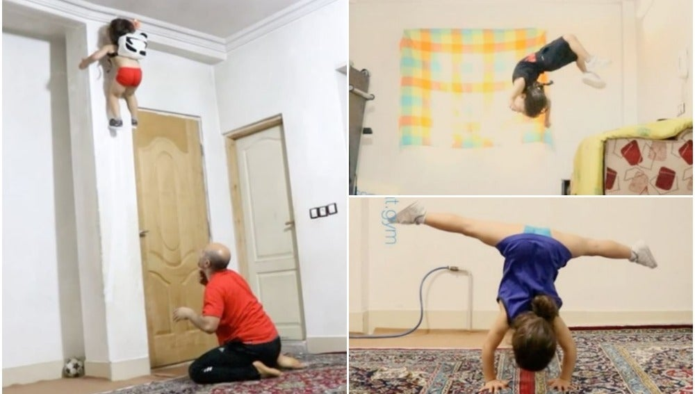 Arat, el 'Spiderman' iraní