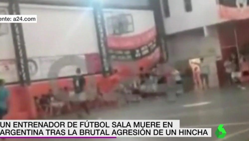 Agresión mortal en un partido de fútbol sala en Argentina