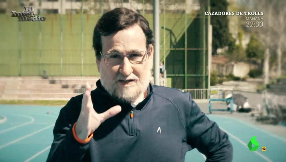 Joaquín Reyes encarna a Mariano Rajoy